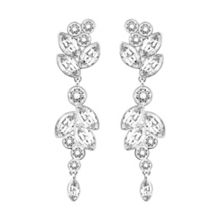 Swarovski Diapason Pierced Earrings
