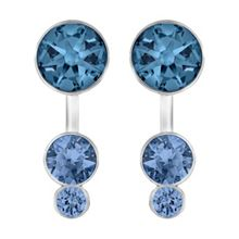 Swarovski Slake dot earrings