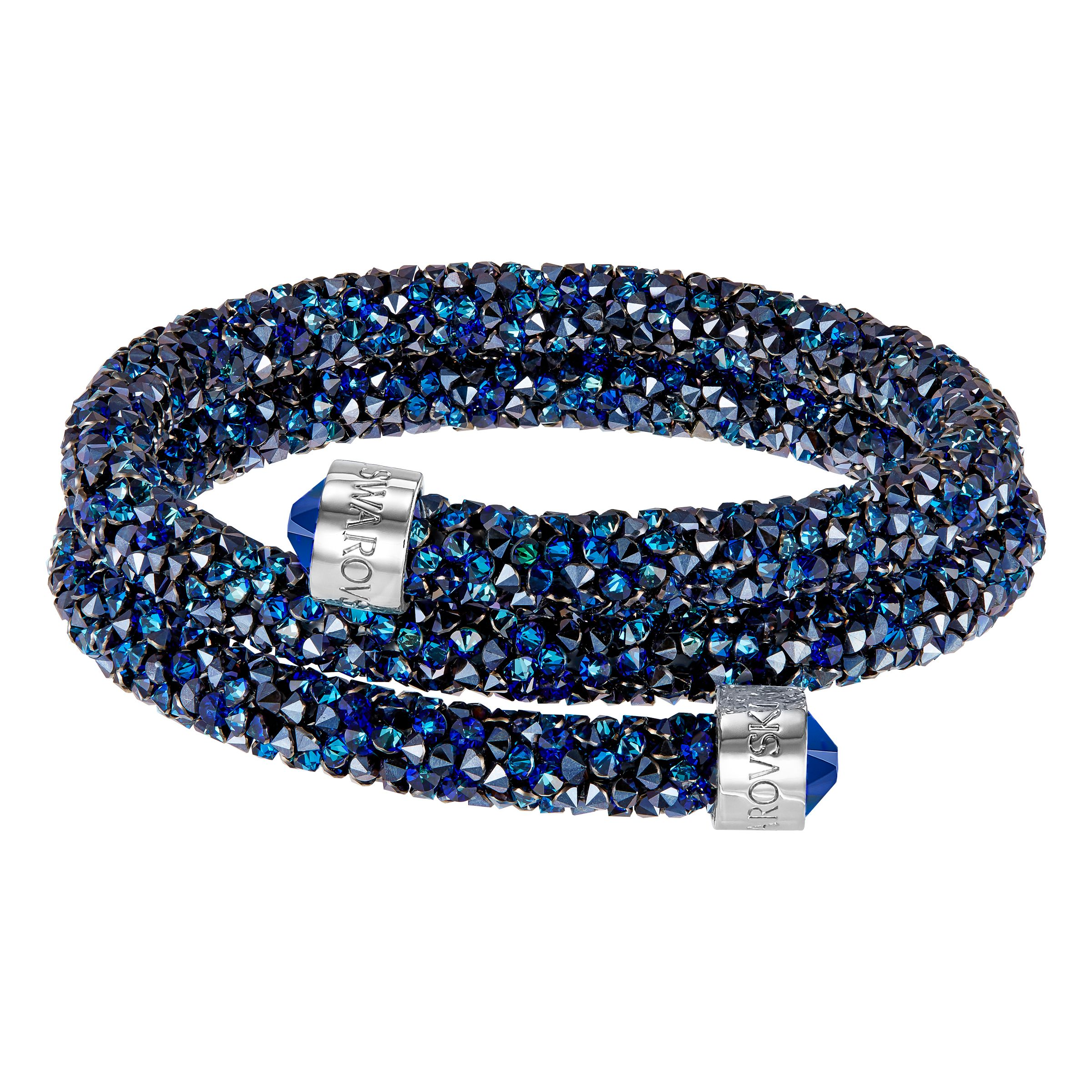 Swarovski Crystaldust bangle, Blue