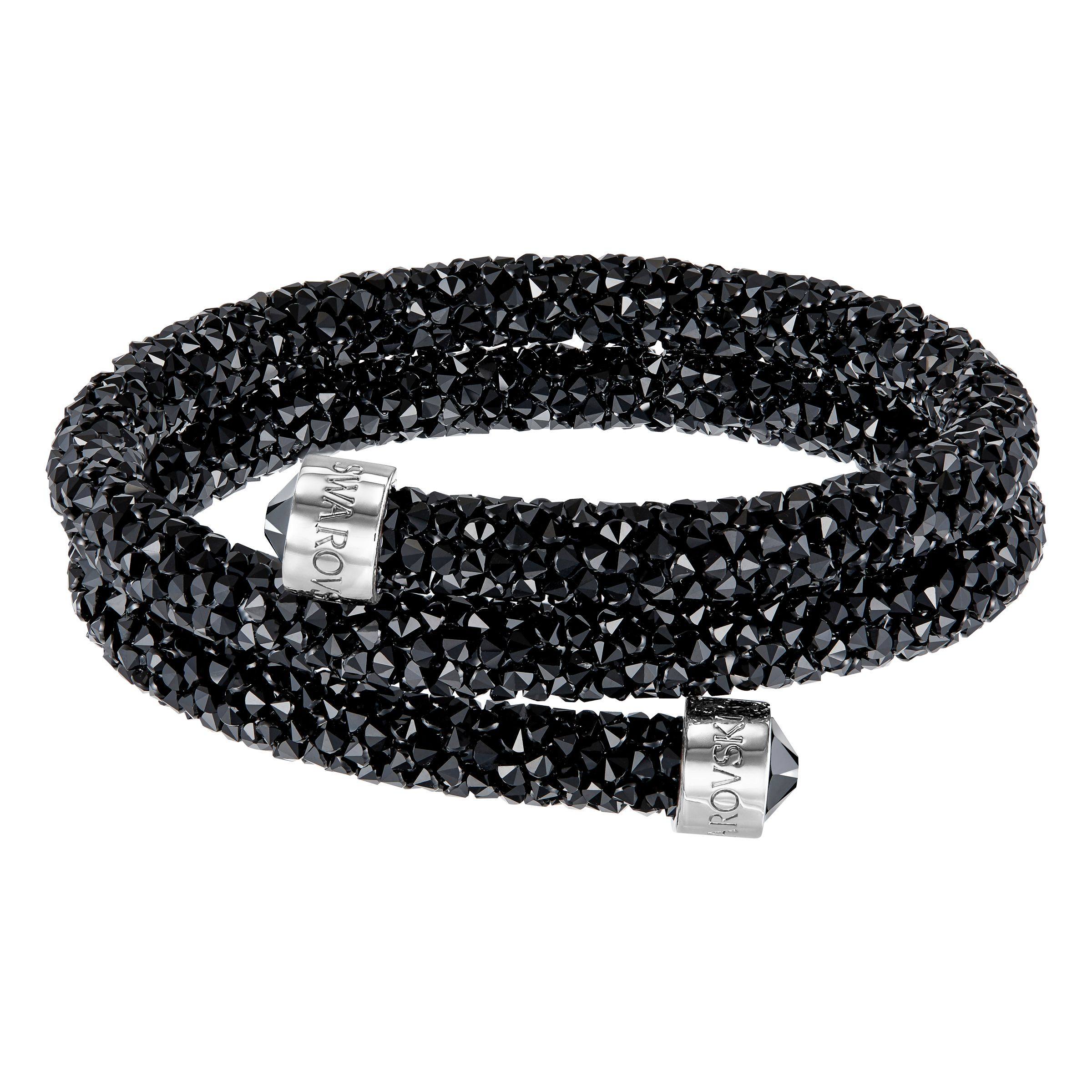 Swarovski Crystaldust bangle, Black