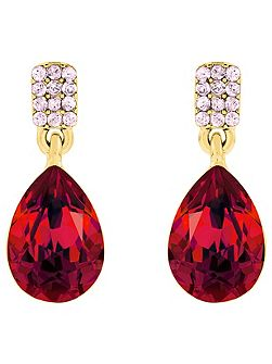 Chateau drop earrings