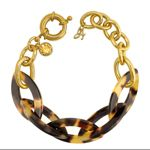 Adore Gold Plated Resin Bold Bracelet