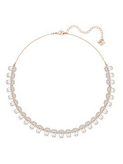 Gallery all-around necklace, white