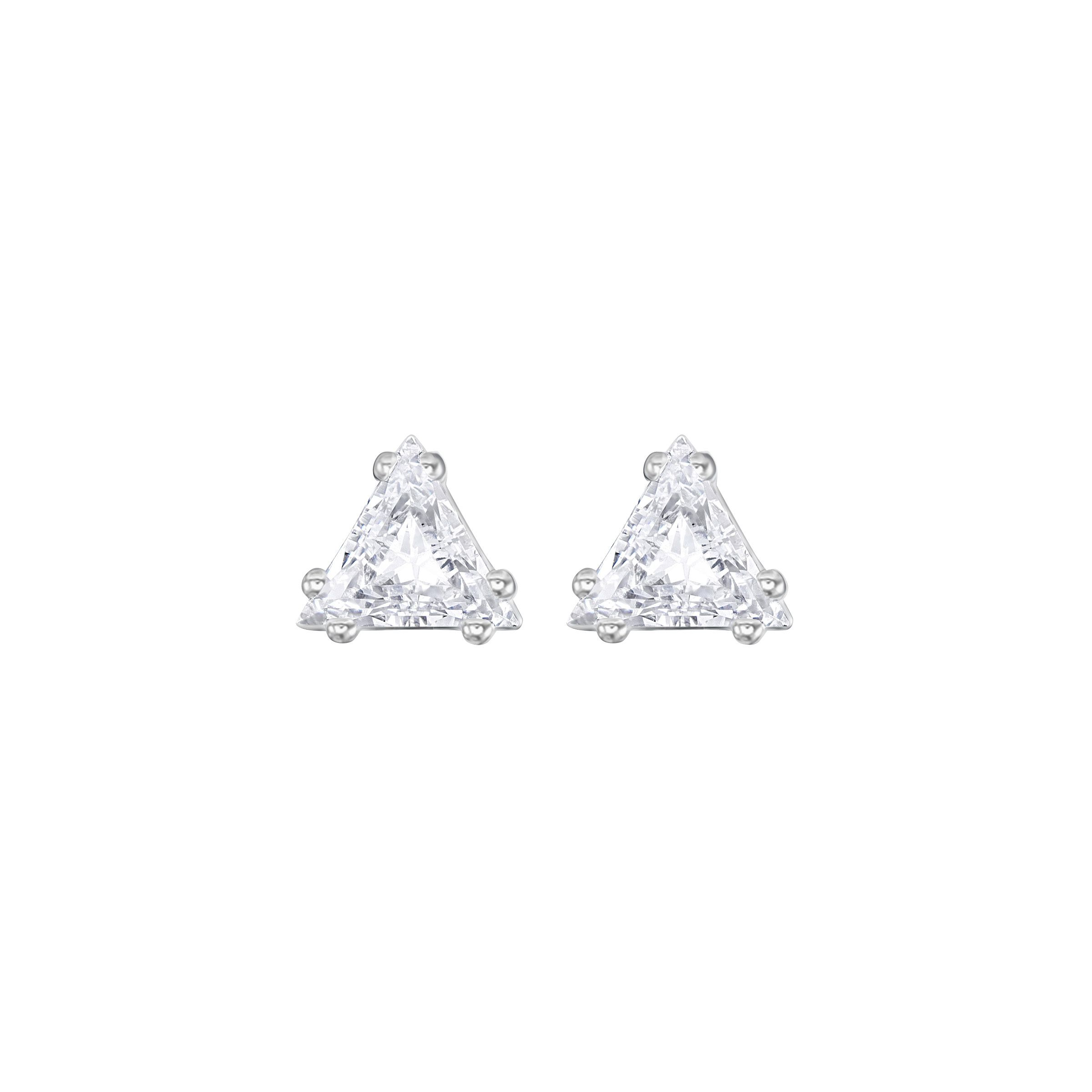 Swarovski Attract pear peirced stud set, N/A