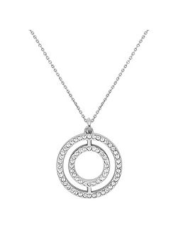 Circle filigree pendant