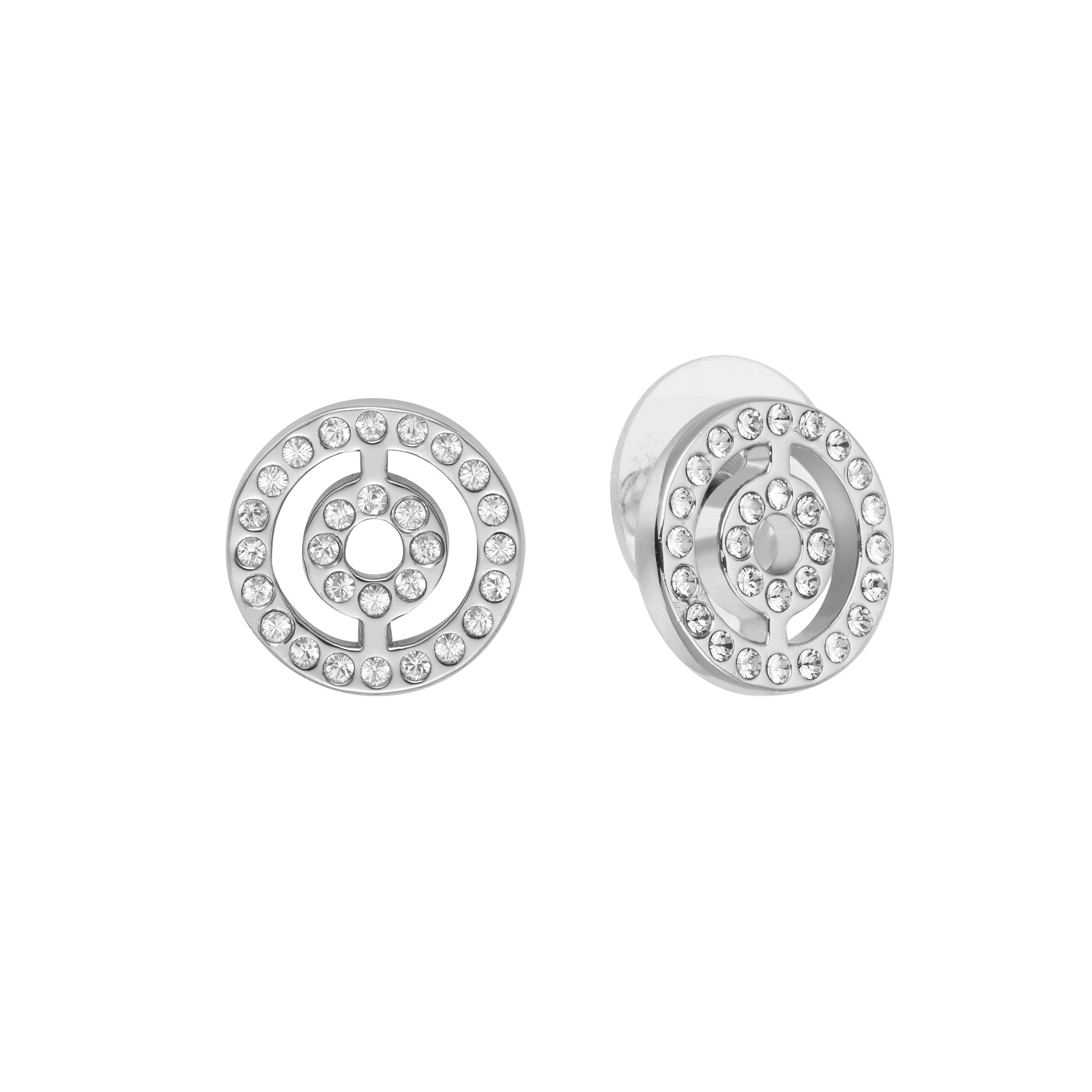 lolaandgrace circle filigree studs