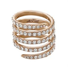 Adore Pave Coil Ring