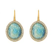 Adore Graphic Crystal Stone Earrings