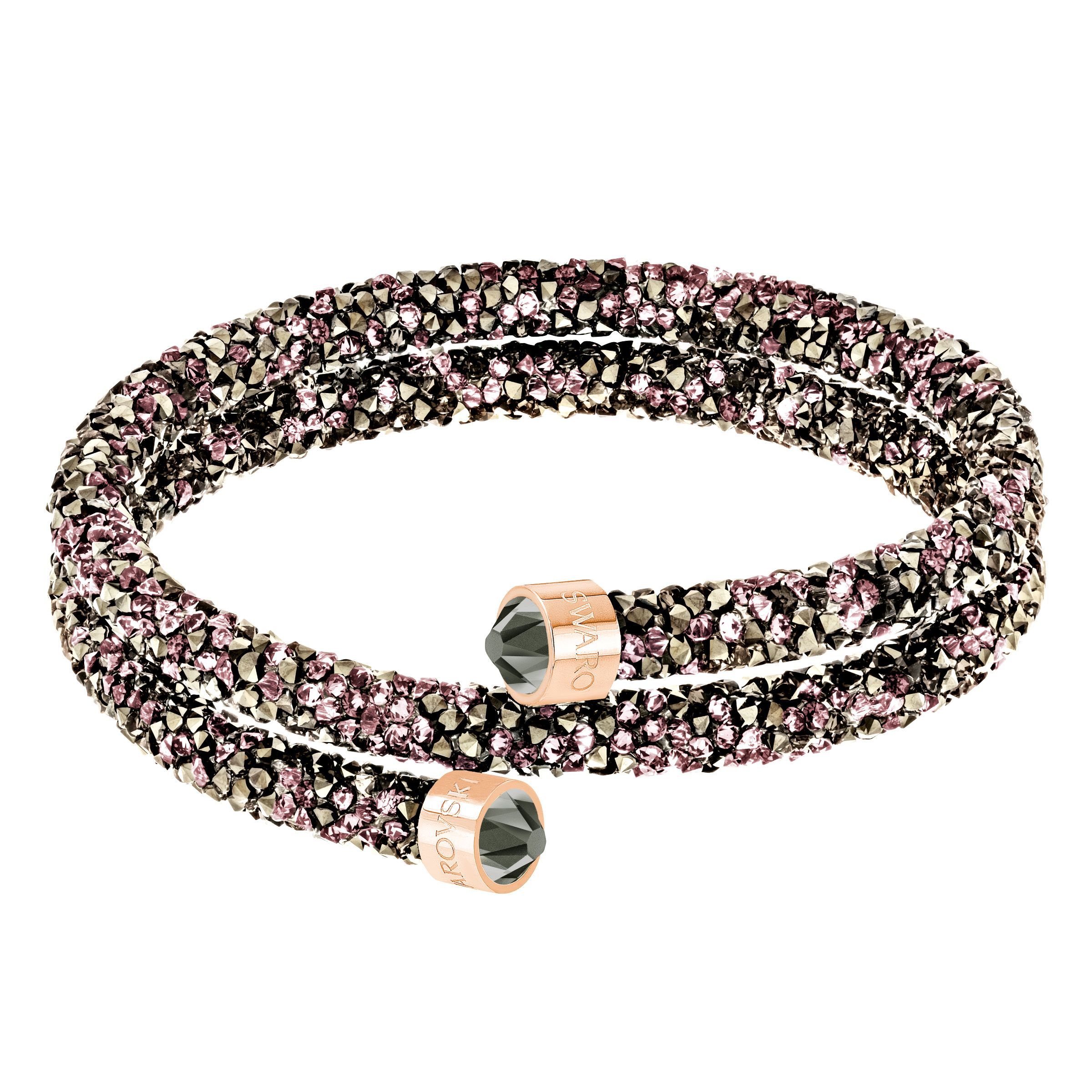 Swarovski CRYSTALDUST BANGLE, Silverlic