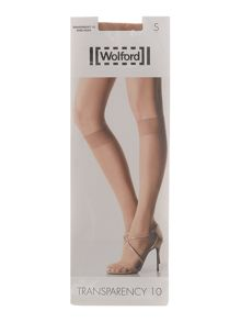 Wolford 10d transparency knee tights