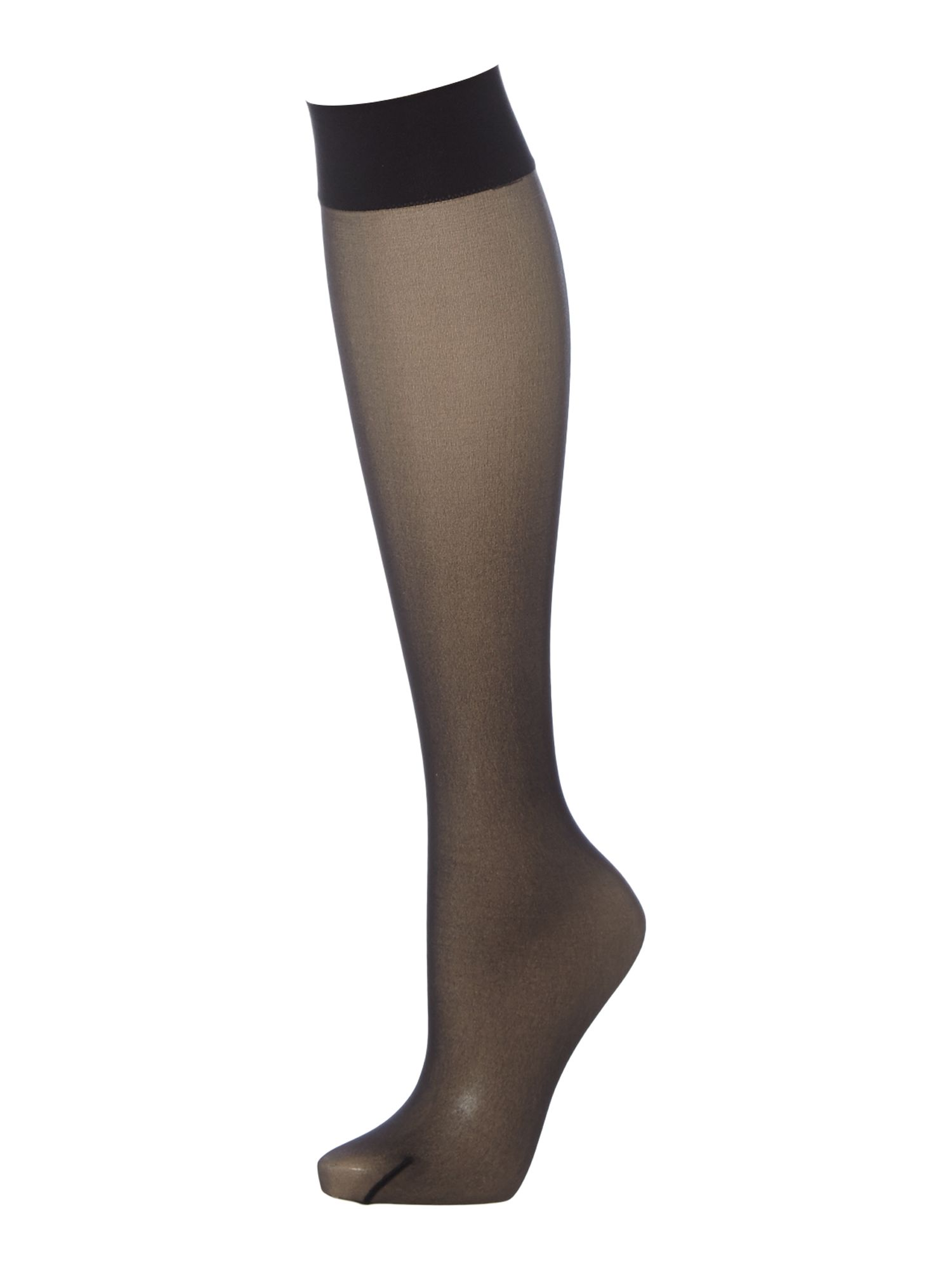 1930s Stockings, Nylons, Tights & Socks Wolford 10d transparency knee tights £9.00 AT vintagedancer.com