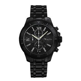 Rebel at Heart, Black Chronograph Watch