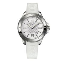 Rebel at Heart Lily White Silicon Watch