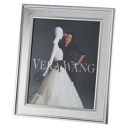 Wedgwood Vera wang grosgrain photo frame 4x6in