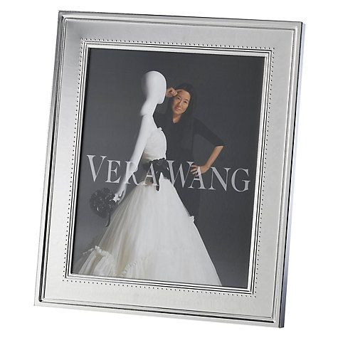 Vera wang grosgrain photo frame 5x7in