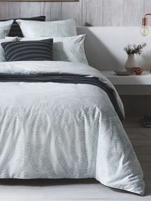 Sheridan Sands celadon quilt cover set
