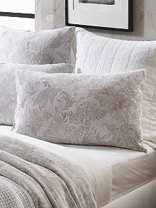Sheridan Brook flax standard pair pillowcases