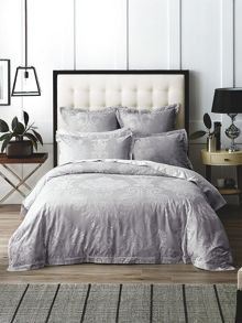 Sheridan Connick chambray oxford pair pillowcases