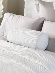 Sheridan Christobel White Bolster Cushion