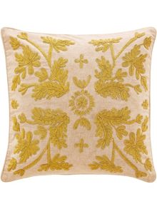 Sheridan Blume Gold Square Cushion
