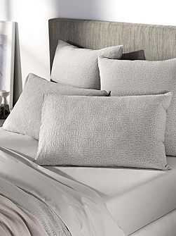 Broderie pair standard pillowcases