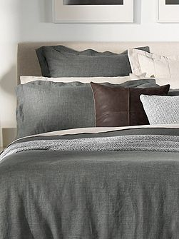 Abbotson marl pair oxford pillowcases