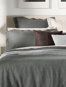 Sheridan Abbotson marl pair oxford pillowcases