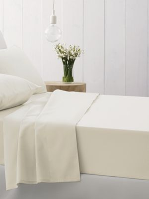 Sheridan 500tc cotton sateen flat sheet