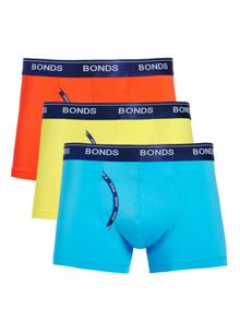 Bonds Mens 3 Pack Guyfront Micro Trunk