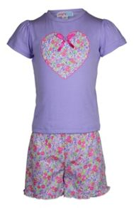 Mini ZZZ Girls summer garden pj
