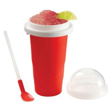 Chill Factor The Chill Factor Squeeze Cup Slushy Maker RED