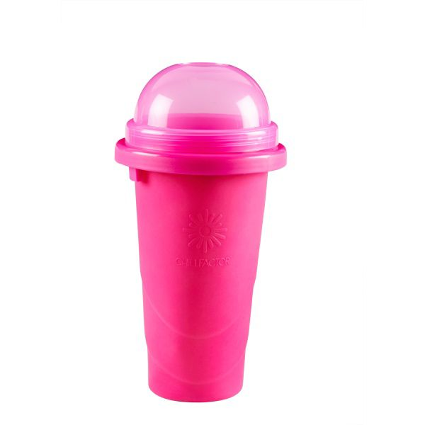 Squeeze Cup Slushy Maker Colour Blast - Pink