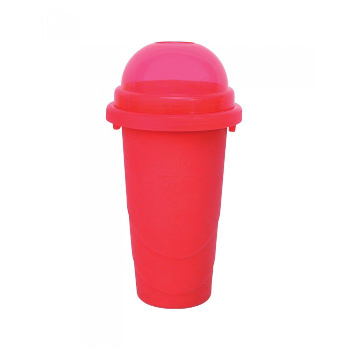 Squeeze Cup Slushy Maker Colour Blast - Red