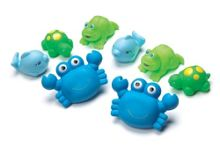Playgro Bathtime Animals 8 Pack - Blue