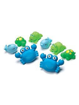 Bathtime Animals 8 Pack - Blue
