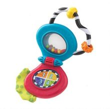 Musical mobile phone rattle