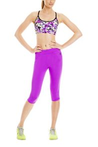 Neon fuchsia amy 3/4 tight
