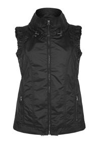 Fuse sleeveless jacket