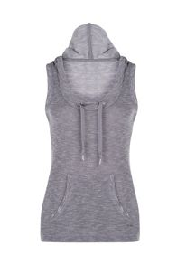 Lorna Jane Decoy S/Less Hooded Tank