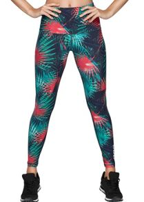 Lorna Jane Electric Palm F/L Tight