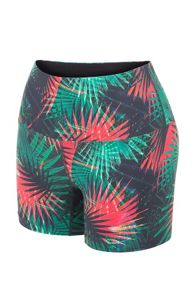 Lorna Jane Electric Palm Short Tight