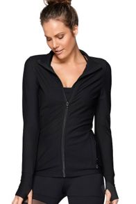 Lorna Jane Tribeca Excel Zip Through