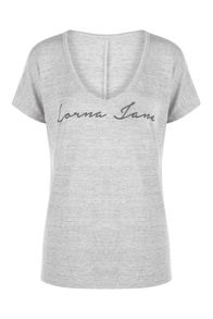 Lorna Jane Relax S/Slv Knit Top