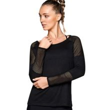 Lorna Jane Layered L/Slv Top