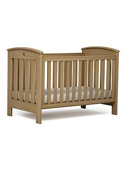 Classic Cot Bed Almond