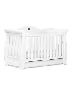 Sleigh Royale Cot Bed White