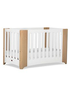 Dawn Expandable Cot Bed Beechwhite