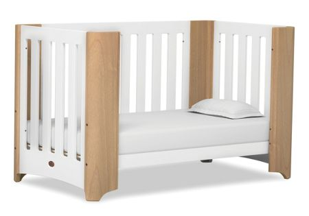 Boori Dawn Expandable Cot Bed Beechwhite