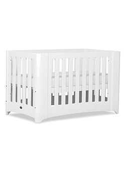 Dawn Expandable Cot Bed White