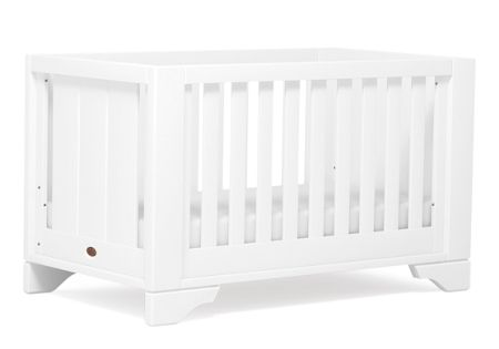 Boori Eton Expandable Cot Bed White